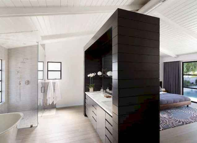 60 awesome open bathroom concept for master bedrooms decor ideas (63)