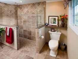 80 stunning tile shower designs ideas for bathroom remodel (11)
