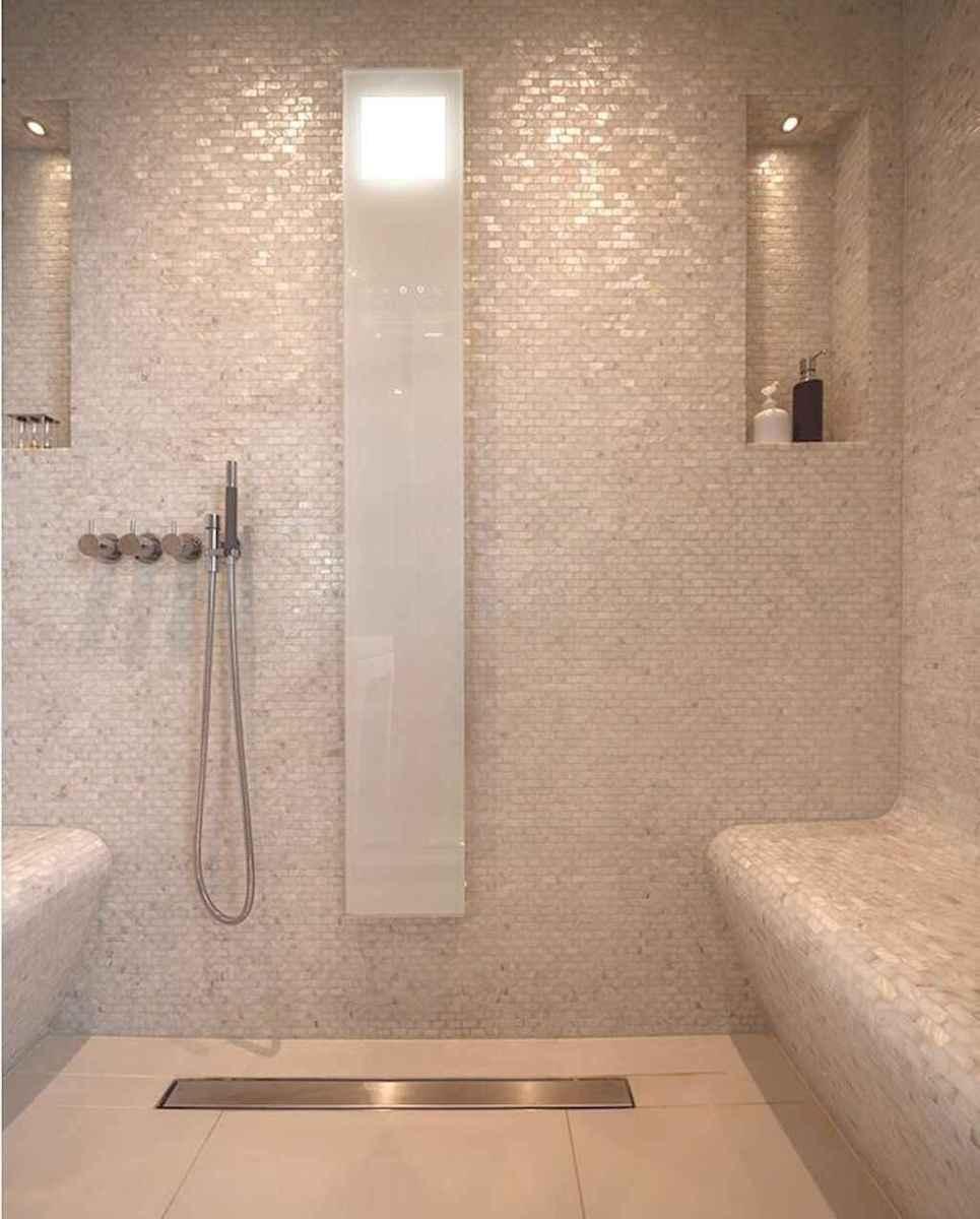80 stunning tile shower designs ideas for bathroom remodel for Steam room design plans