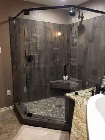 80 stunning tile shower designs ideas for bathroom remodel (24)