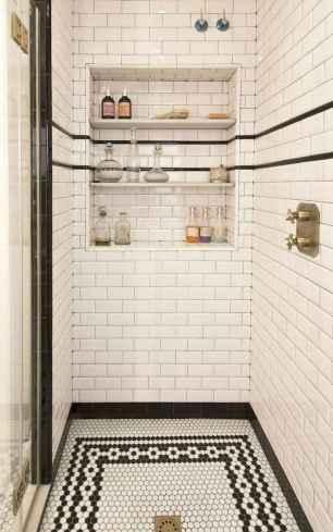80 stunning tile shower designs ideas for bathroom remodel (9)