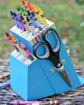10 diy knife block crayon holder crafts ideas (2)