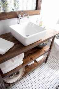 110 spectacular farmhouse bathroom decor ideas (19)