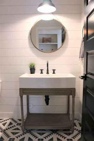 110 spectacular farmhouse bathroom decor ideas (72)