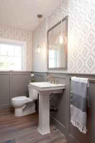 110 spectacular farmhouse bathroom decor ideas (78)