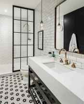 110 spectacular farmhouse bathroom decor ideas (82)