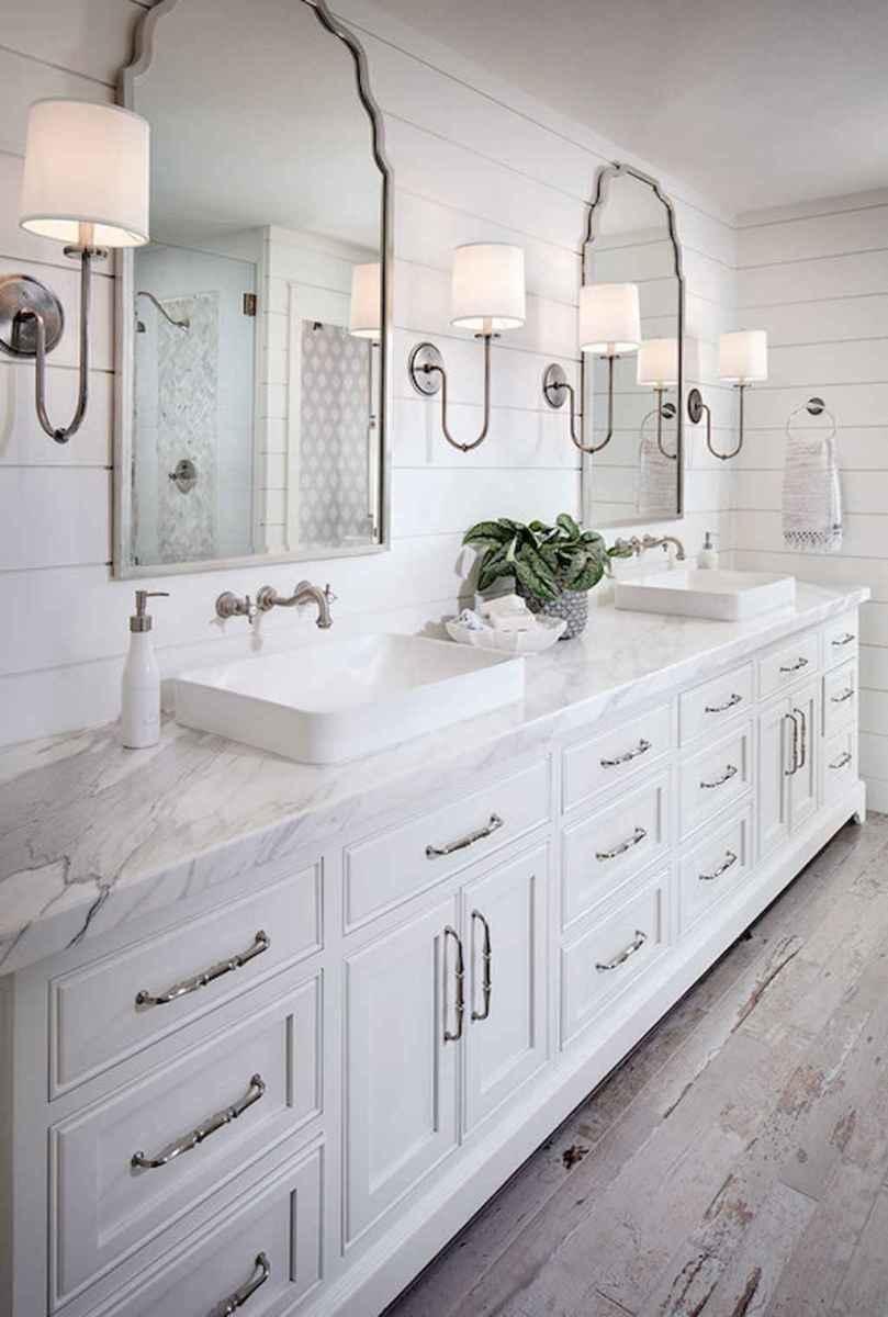 110 spectacular farmhouse bathroom decor ideas (94)