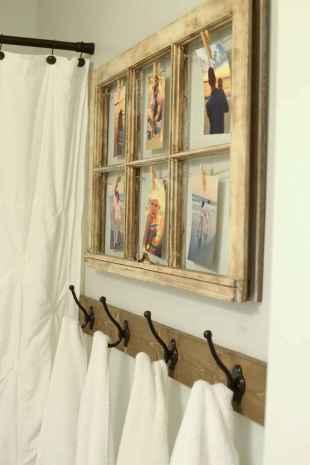 110 spectacular farmhouse bathroom decor ideas (98)