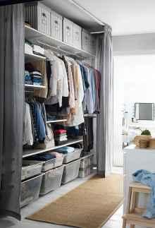 120 brilliant wardrobe ideas for first apartment bedroom decor (61)