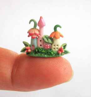 120 easy to try diy polymer clay fairy garden ideas (10)