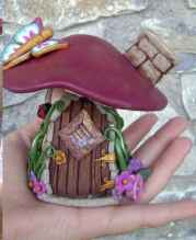 120 easy to try diy polymer clay fairy garden ideas (101)