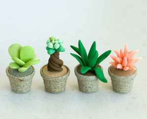 120 easy to try diy polymer clay fairy garden ideas (17)