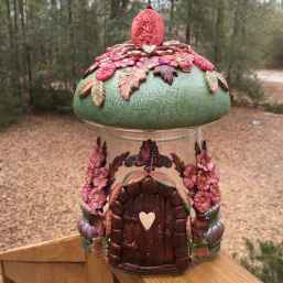 120 easy to try diy polymer clay fairy garden ideas (21)