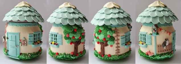 120 easy to try diy polymer clay fairy garden ideas (4)