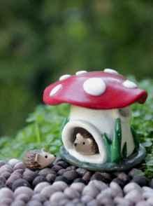 120 easy to try diy polymer clay fairy garden ideas (92)