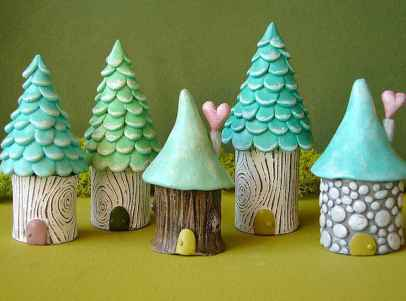 120 easy to try diy polymer clay fairy garden ideas (99)