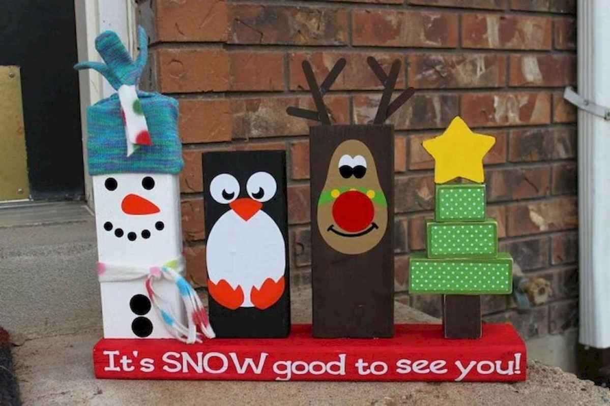 25 gorgeous diy crafts wooden christmas ideas (13)