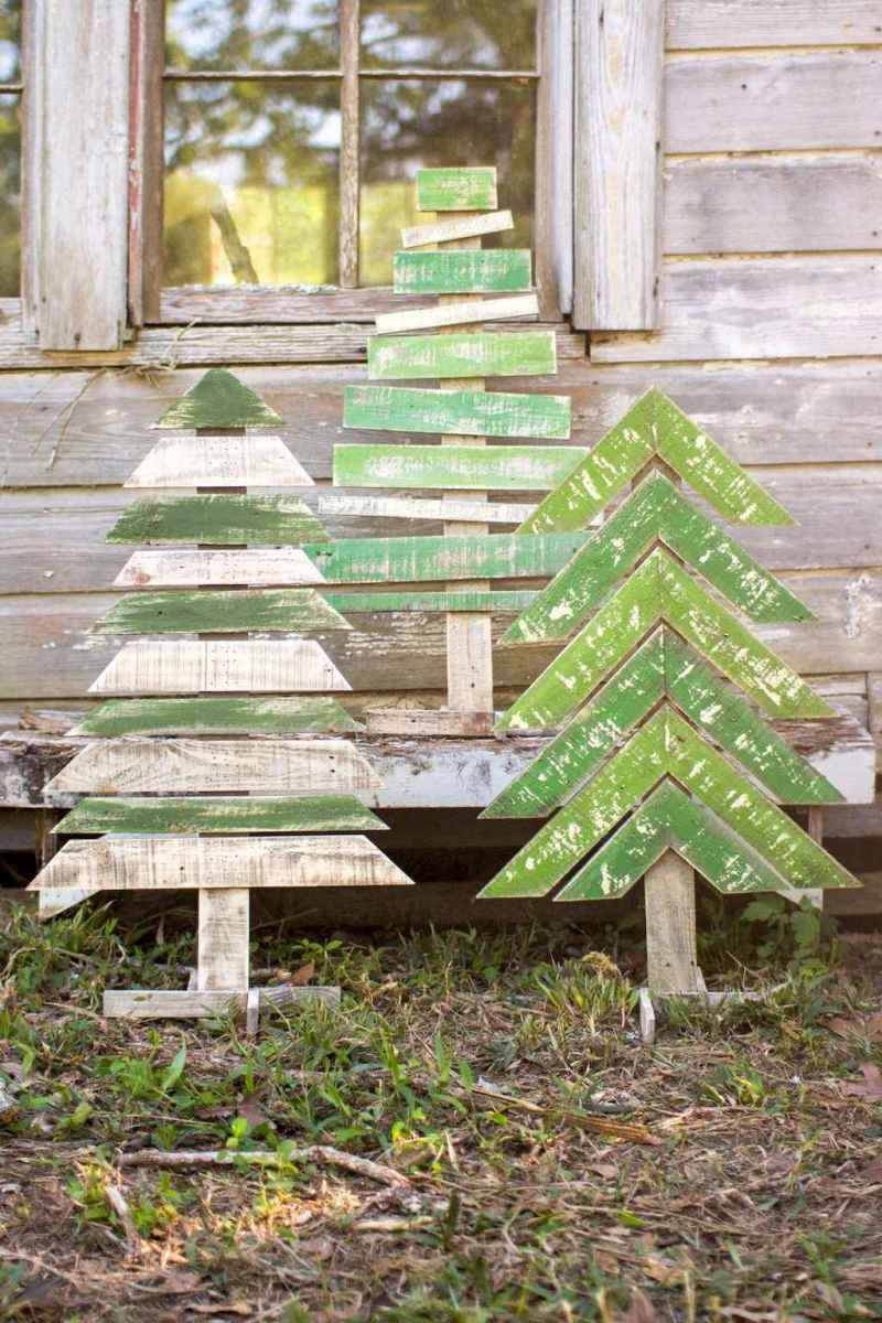 25 gorgeous diy crafts wooden christmas ideas (17)