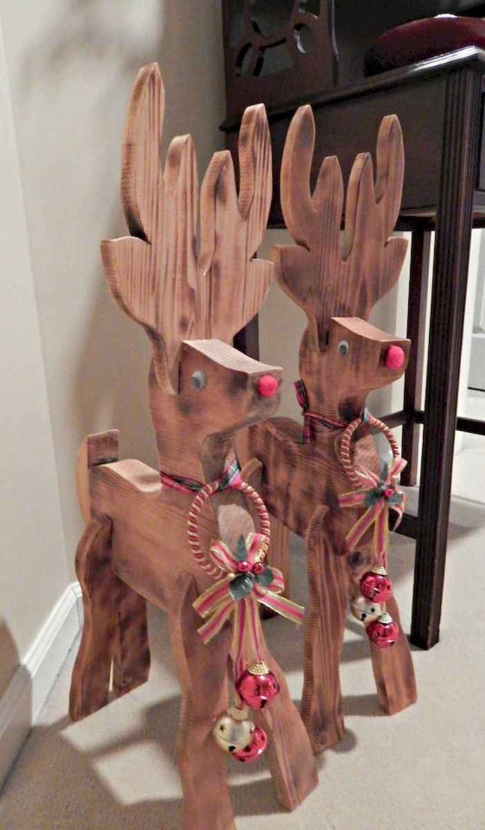 25 gorgeous diy crafts wooden christmas ideas (5)