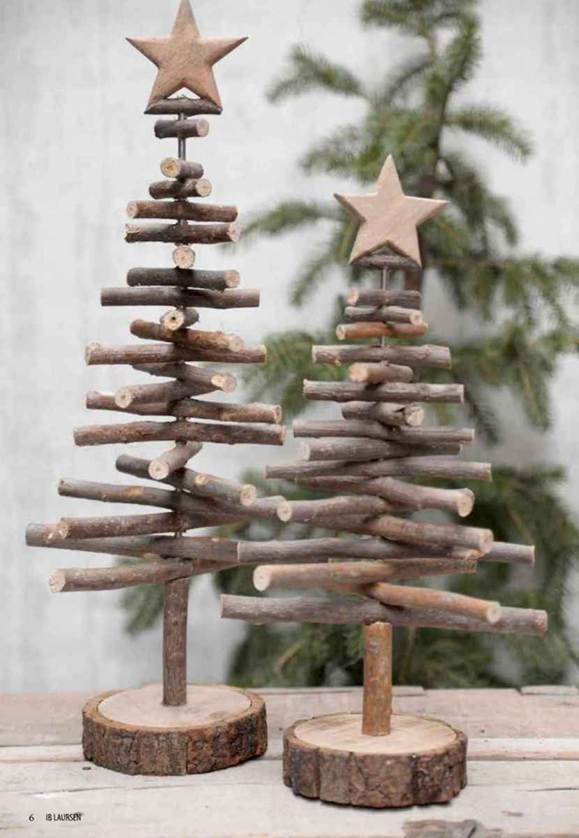 25 gorgeous diy crafts wooden christmas ideas (7)