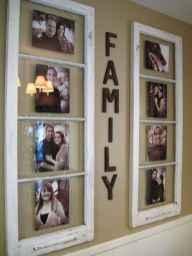 40 diy family photos display ideas for apartment decor (22)