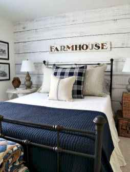 40 navy master bedroom decor ideas (12)