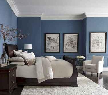40 navy master bedroom decor ideas (13)