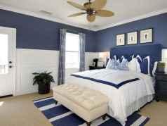 40 navy master bedroom decor ideas (2)