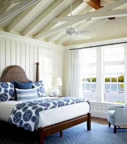 40 navy master bedroom decor ideas (24)