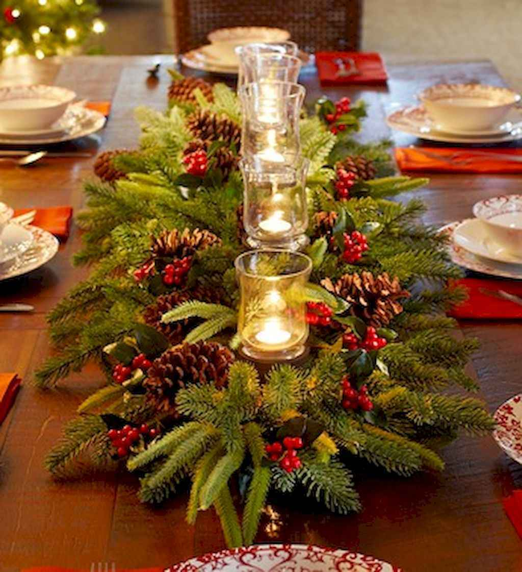 44 stunning mesa centerpiece christmas decor ideas (6)