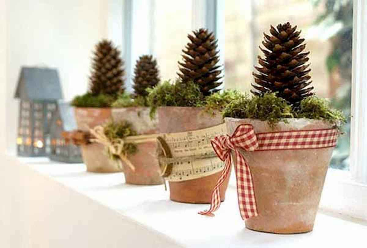45 outdoor pine cones christmas decorations ideas (27)
