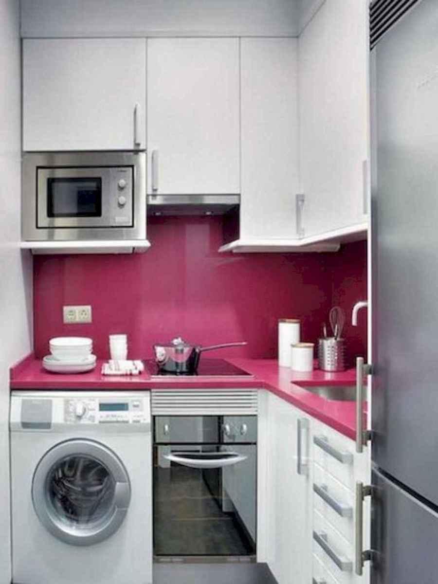 50 amazing small apartment kitchen decor ideas (43)