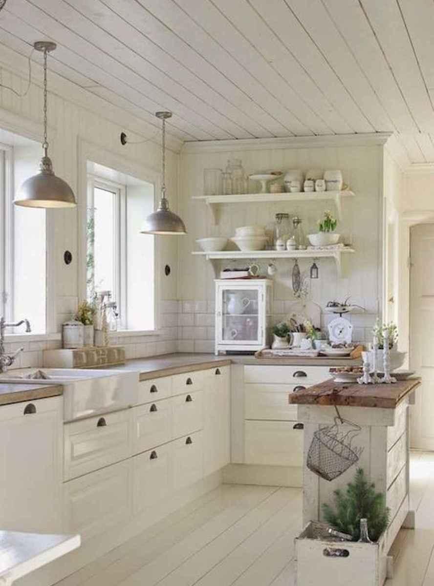 50 elegant farmhouse kitchen decor ideas (15)