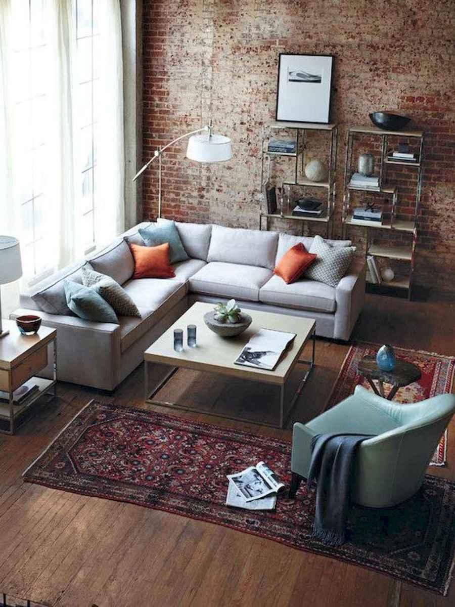 50 elegant rustic apartment living room decor ideas (10)