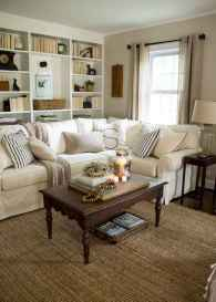 50 elegant rustic apartment living room decor ideas (26)