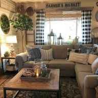 50 elegant rustic apartment living room decor ideas (47)