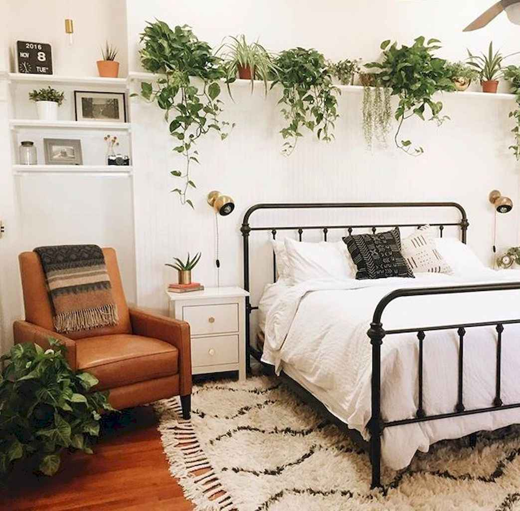 50 incredible apartment bedroom decor ideas with boho style (13 ...