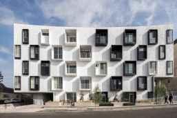 50 marvelous modern facade apartment decor ideas (50)