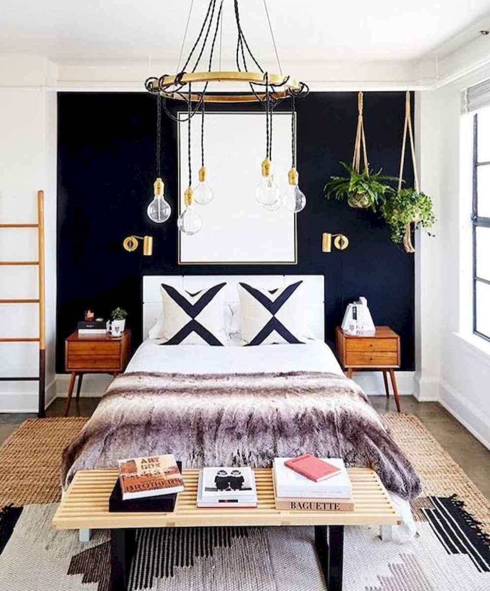 60 cool eclectic master bedroom decor ideas (33)