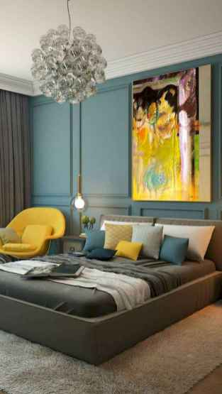 60 cool eclectic master bedroom decor ideas (40)