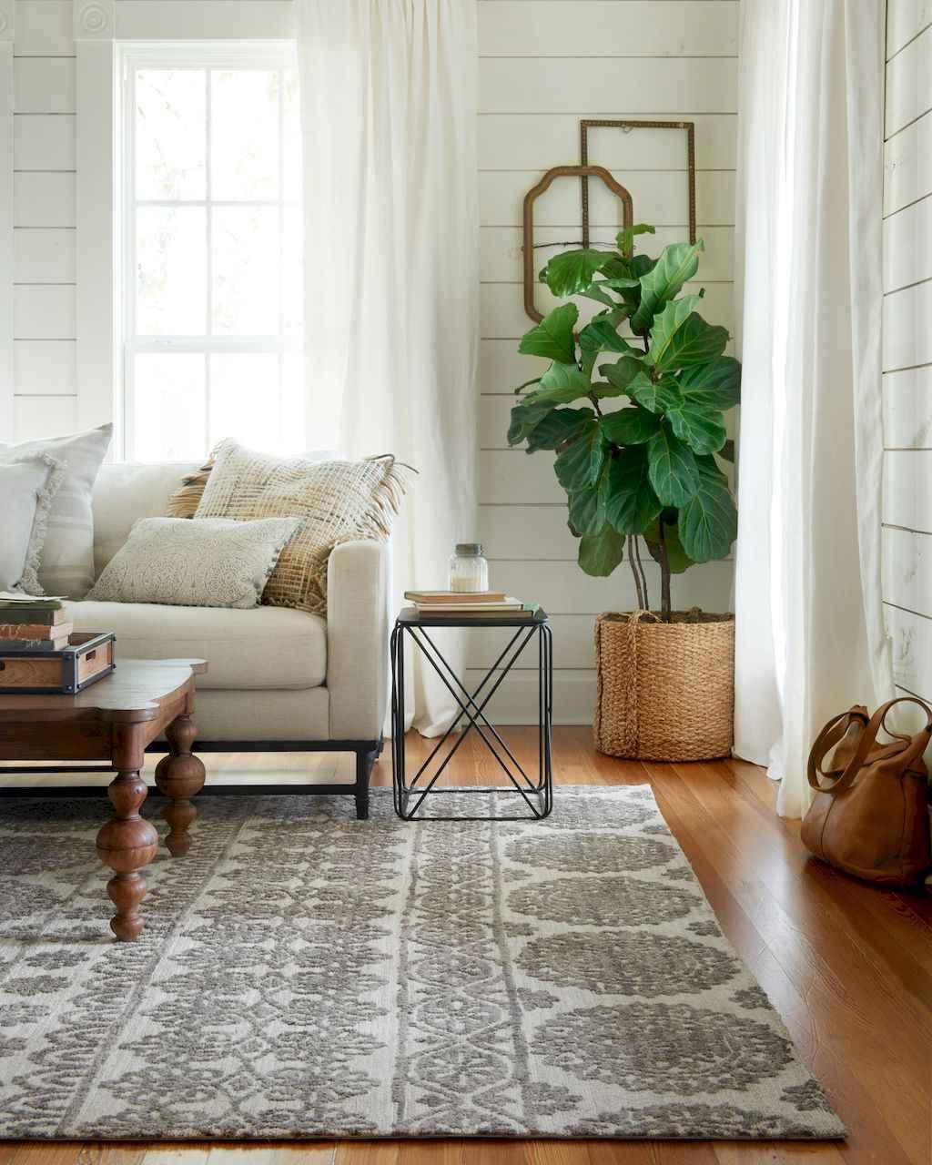 Cool Living Room Decor: 60 Cool Modern Farmhouse Living Room Decor Ideas (19