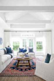60 cool modern farmhouse living room decor ideas (26)