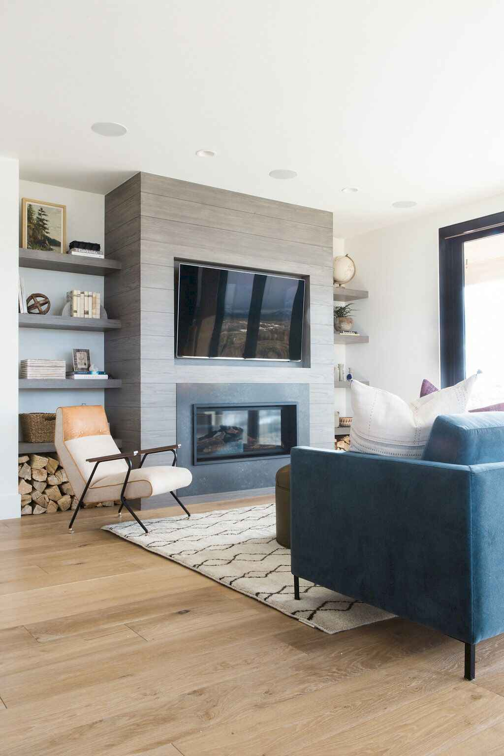 60 Best Living Room Decorating Ideas Designs: 60 Cool Modern Farmhouse Living Room Decor Ideas (45)