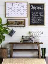 60 cool modern farmhouse living room decor ideas (9)