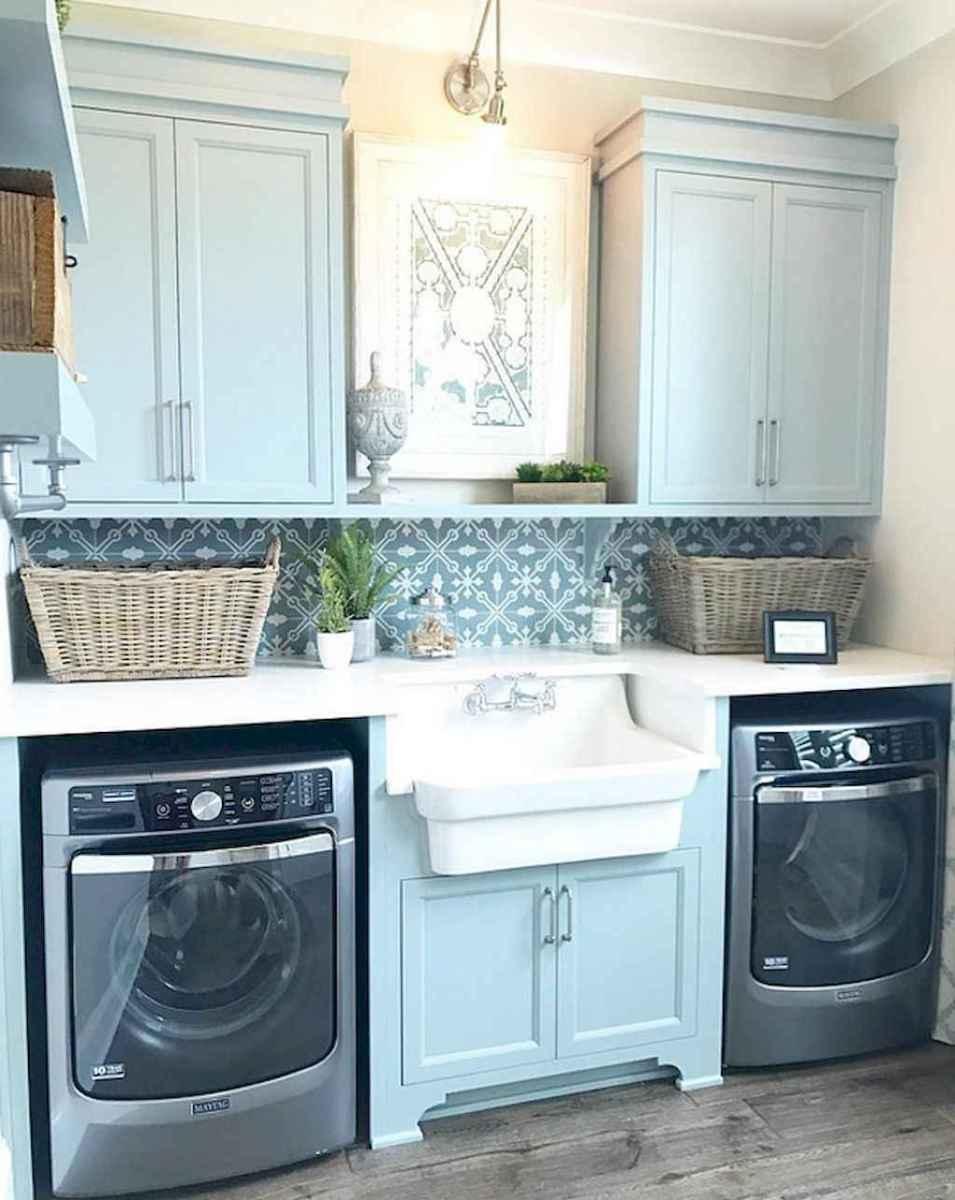 60 fancy farmhouse kitchen backsplash decor ideas (47)
