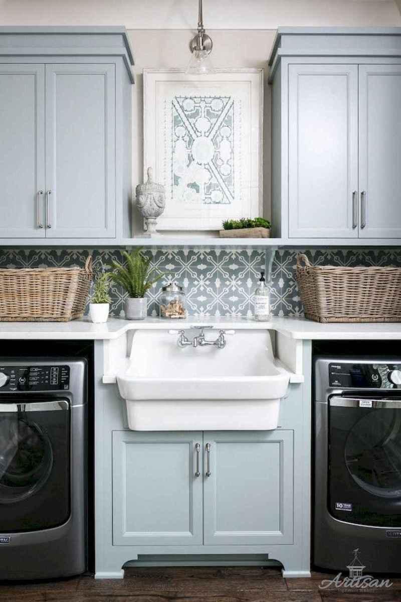 60 fancy farmhouse kitchen backsplash decor ideas (6)
