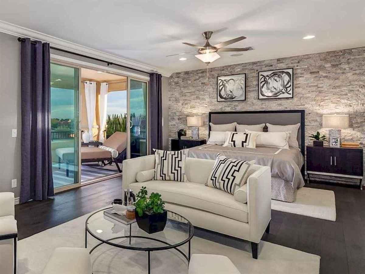 60 glamorous dream master bedroom decor ideas (49)