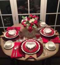 66 romantic valentines table settings decor ideas (29)