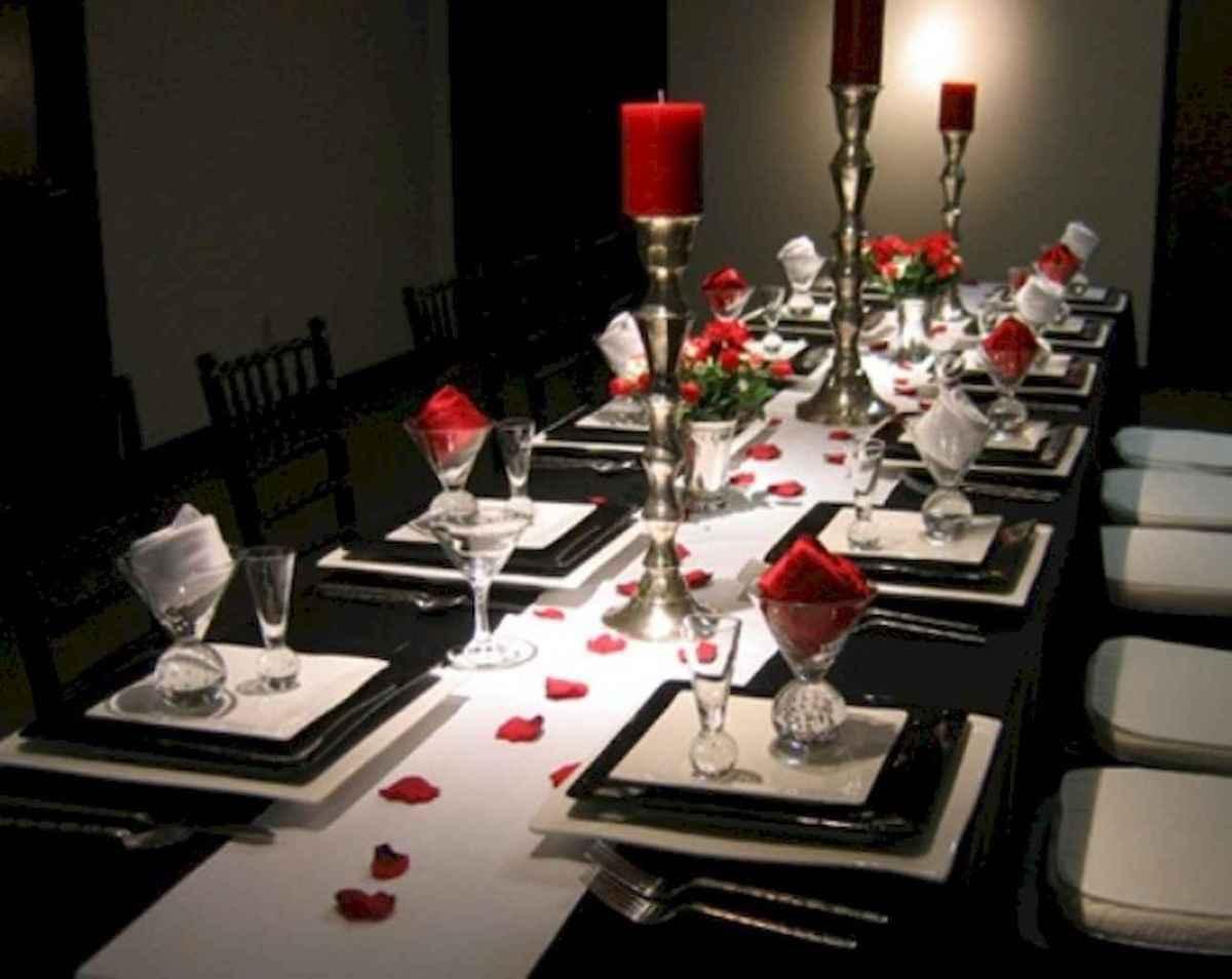 66 romantic valentines table settings decor ideas (42)