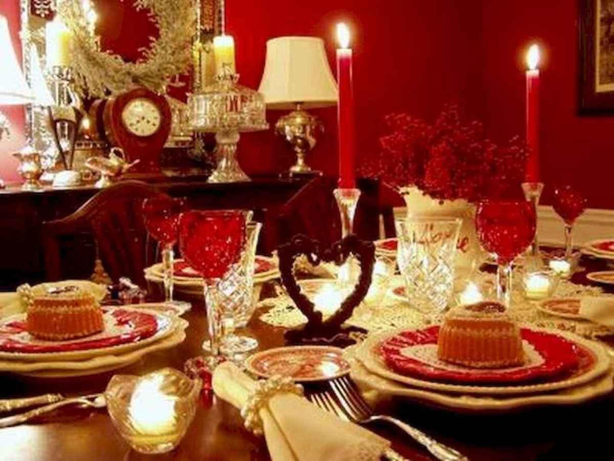 66 romantic valentines table settings decor ideas (56)